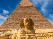 le piramide et sphinx